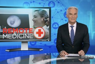 Nine News: Visionflex helps Doctors in remote Locations