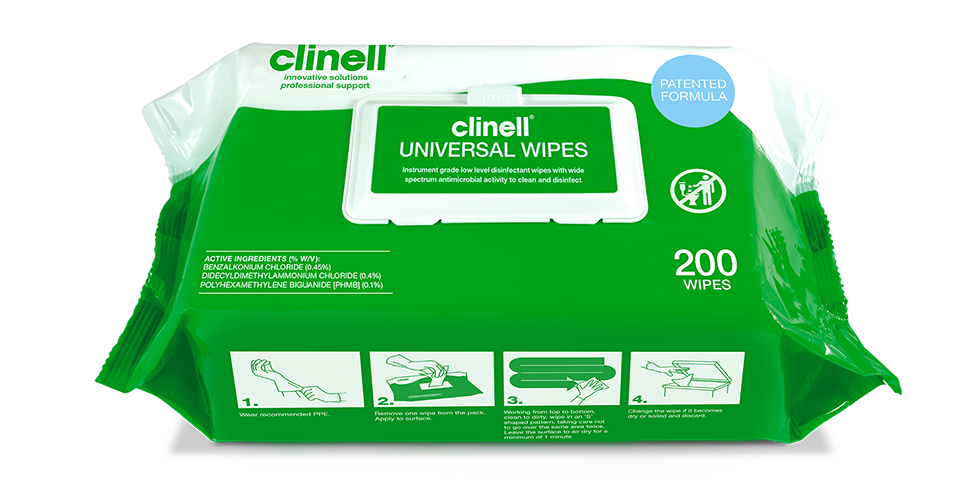 hospital wipes clinell wipes