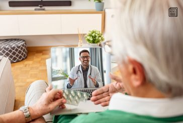 Aged care telehealth consultation