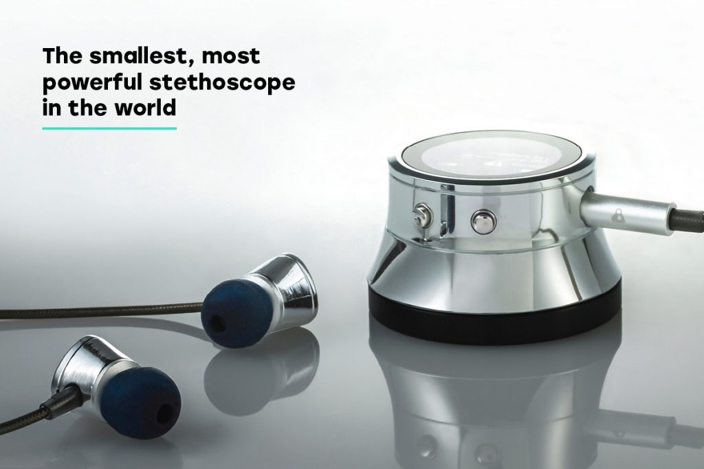 Thinklabs One smallest, most powerful stethoscope in the world